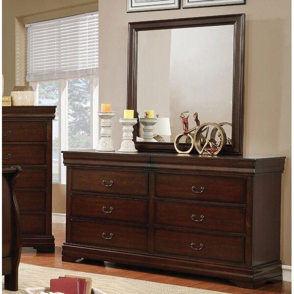 Fredette 6 Drawer Dresser by Charlton Home