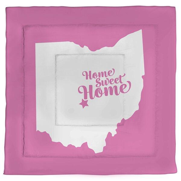 Columbus Home Sweet Single Reversible Comforter