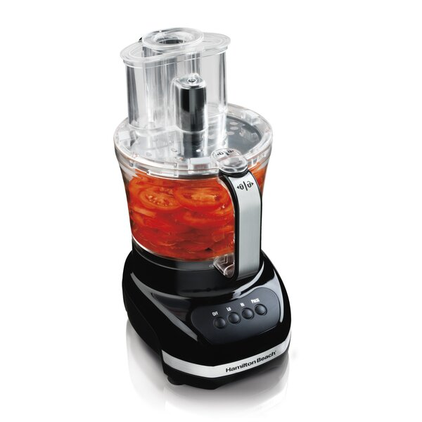 12 Cup Big Mouth Duo Plus Food Processor by Hamilt