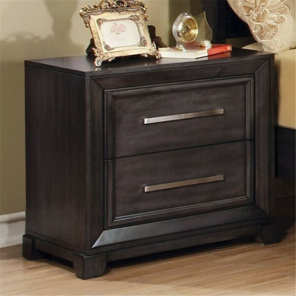Aramis 2 Drawer Nightstand By Red Barrel Studio by Red Barrel Studio Modern