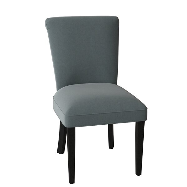 Curved Upholstered Dining Chair by Sloane Whitney Sloane Whitney