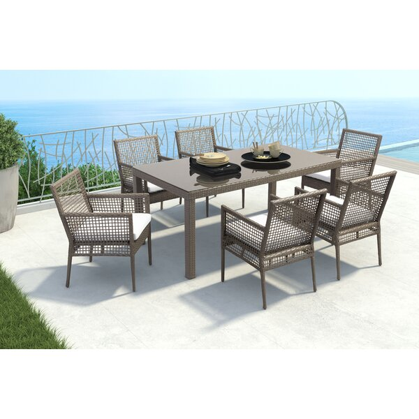 Baca Patio Dining Chair with Cushion (Set of 2) by Brayden Studio