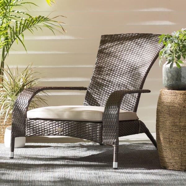 Mitchem Adirondack Chair with Cushion by Alcott Hill