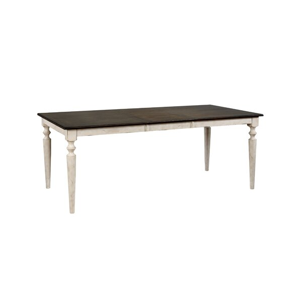 Rensselear Extendable Solid Wood Dining Table by Gracie Oaks Gracie Oaks