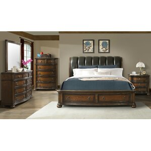 Alvina Storage Sleigh Configurable Bedroom Set by Astoria Grand