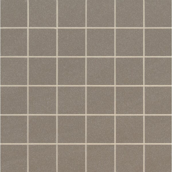 Optima 2 x 2 Porcelain Mosaic Tile in Green by MSI