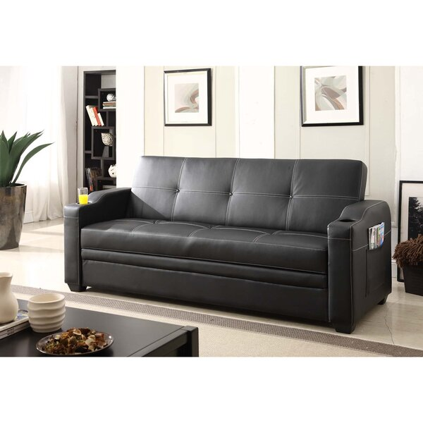 Premium Quality Manning Functional Sofa Bed by Hazelwood Home by Hazelwood Home