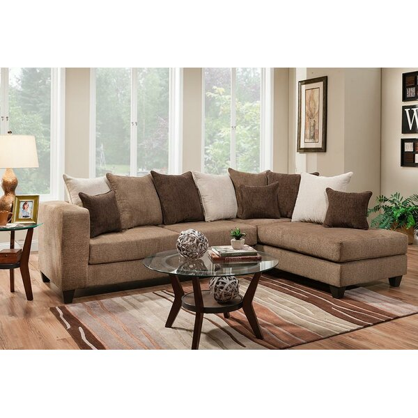 Alyssa Stationary Sectional by Wade Logan