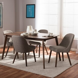 Croom Mid-Century 5 Piece Dining Set By George Oliver