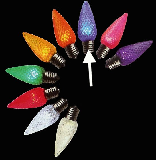 0.6W 120-Volt LED Light Bulb (Set of 25) by Vickerman