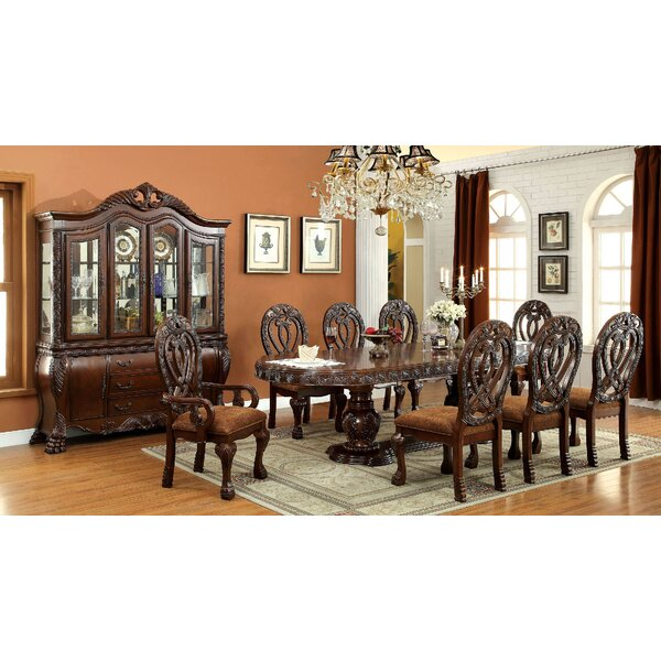 Belott 9 Piece Drop Leaf Dining Set by Astoria Grand