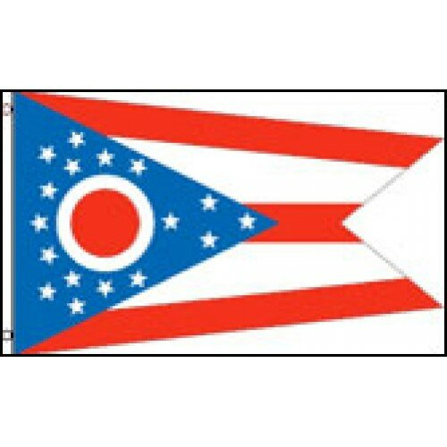 Ohio State Traditional Flag by NeoPlex