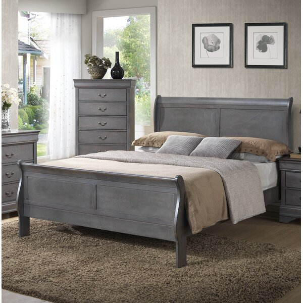 Ashdown Sleigh Bed by Three Posts