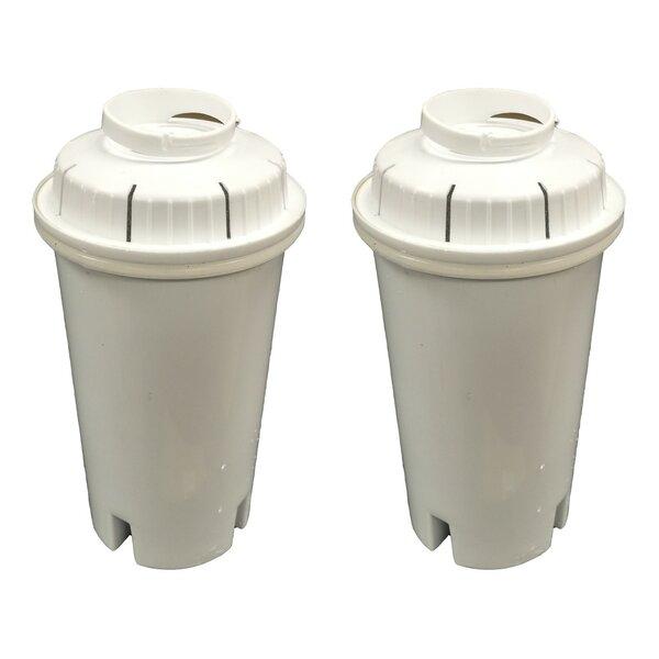 Brita Refrigerator/Icemaker Water Purifier Filter (Set of 2) by Crucial