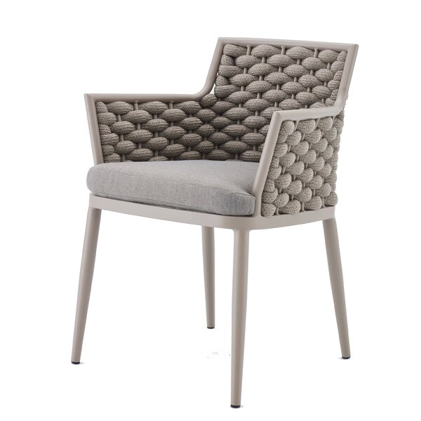 Palma Patio Dining Chair with Cushion by Feruci