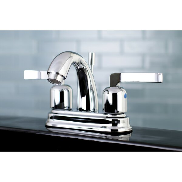 Centurion Centerset Faucet with Drain Assembly by Kingston Brass Kingston Brass