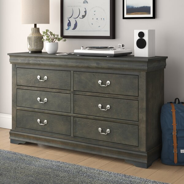 Sophia 6 Drawer Double Dresser by Grovelane Teen