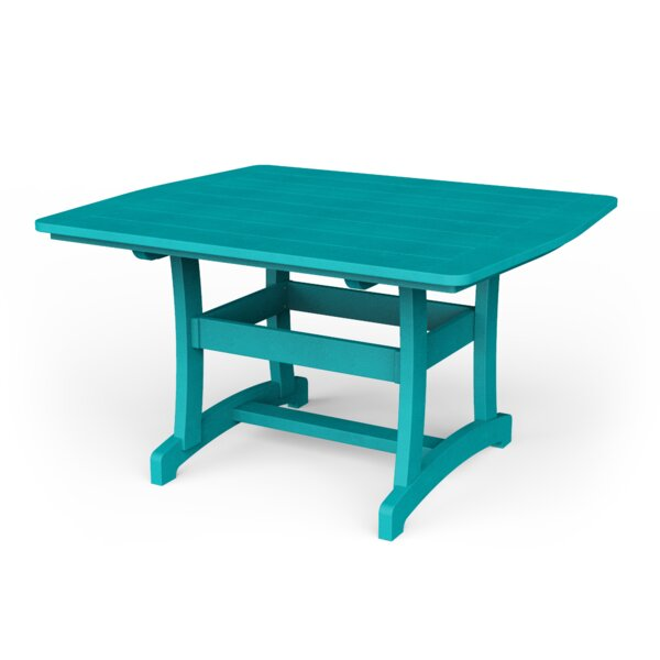 Poly Plastic Dining Table by YardCraft