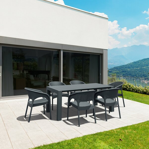 Vale 7 Piece Dining Set by Brayden Studio