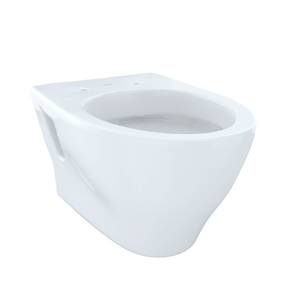 Aquia Dual-Flush Elongated Wall-Mount Toilet (seat Not Included) By Toto.