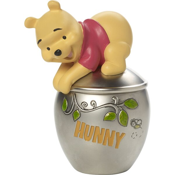 Disney Showcase Winnie The Pooh Trinket Box by Precious Moments