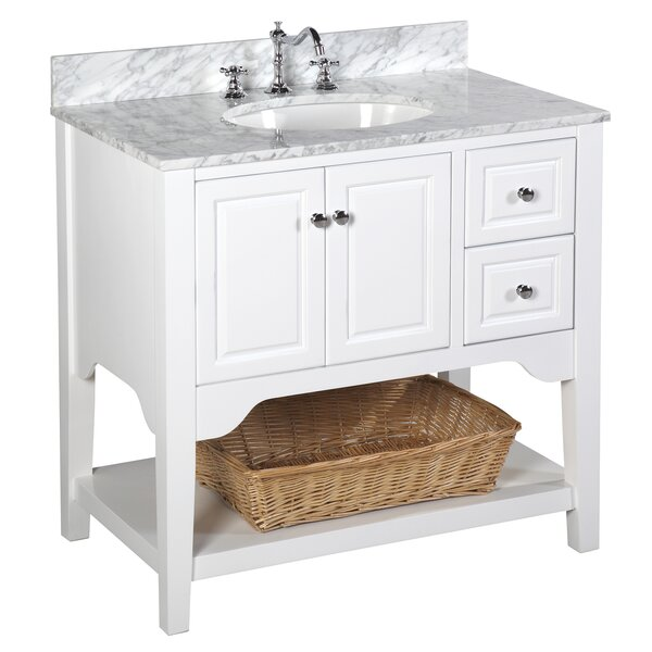 Washington 36 Single Bathroom Vanity Set by Kitchen Bath Collection
