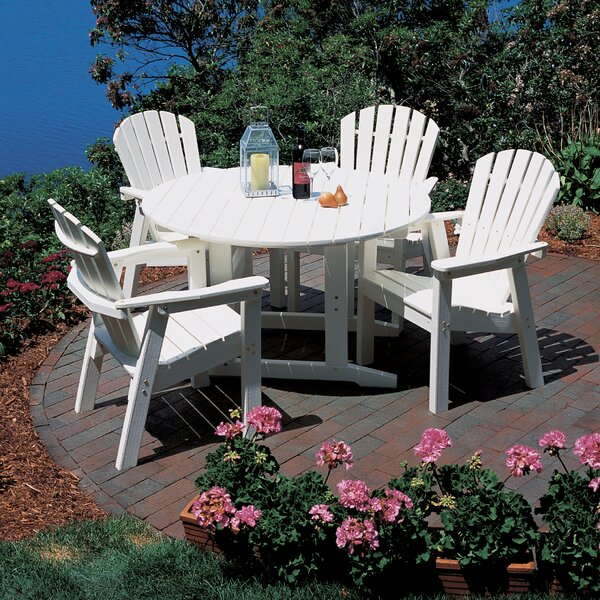 Adirondack Plastic Dining Table by Seaside Casual