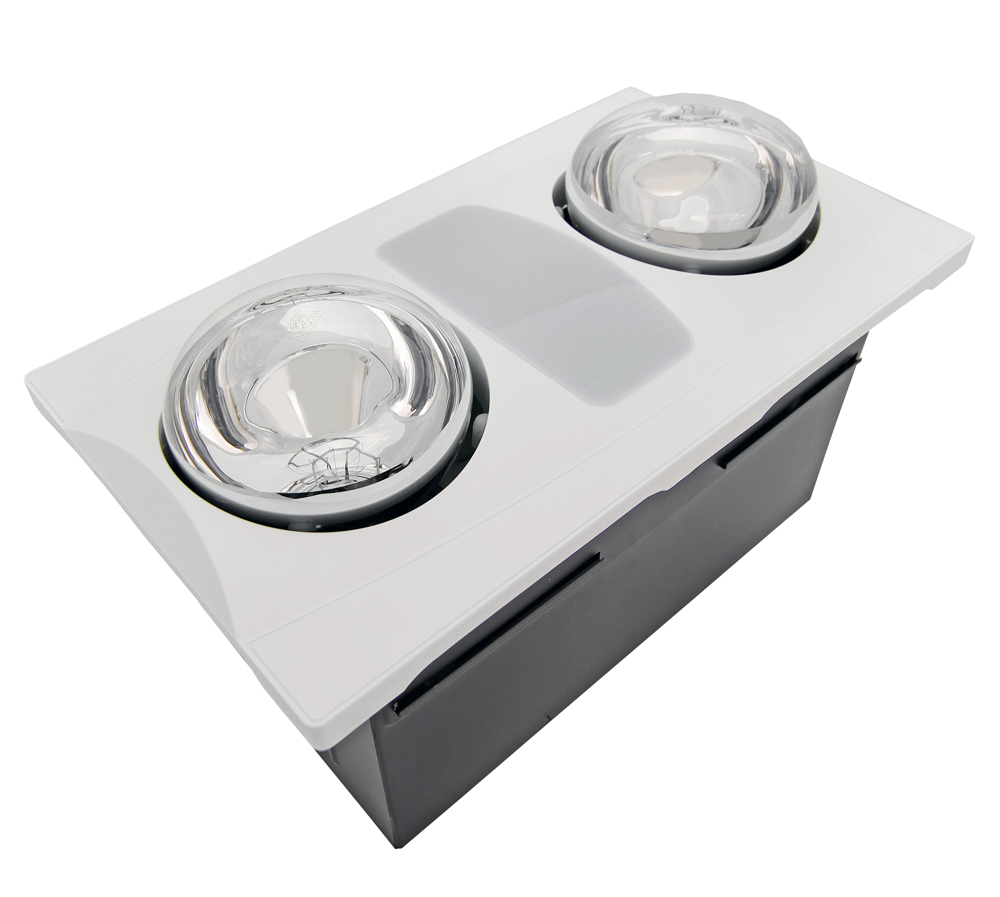 Aero Pure 80 Cfm Bathroom Fan With Heater And Light Reviews Wayfair