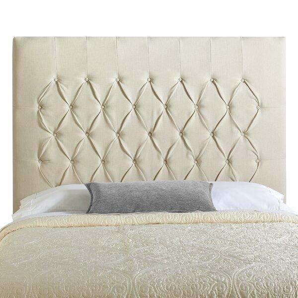 Myrtille Upholstered Panel Headboard by Lark Manor