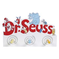 Dr. Seuss Friends Peg Wall Hook by Trend Lab