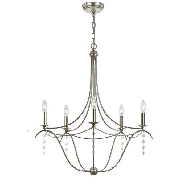 Farrington Gurney 5-Light Candle Style Empire Chandelier By Astoria Grand