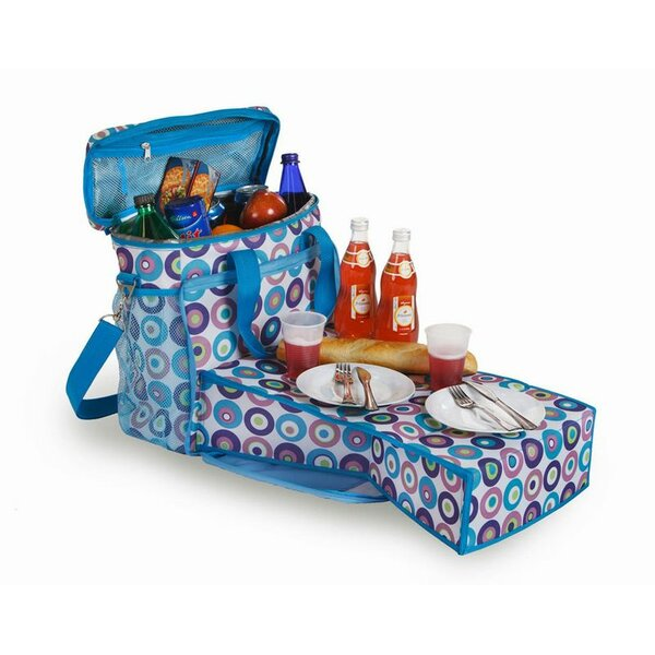 24 Can Merritt Insulated Bag Picnic Cooler by Picnic Plus