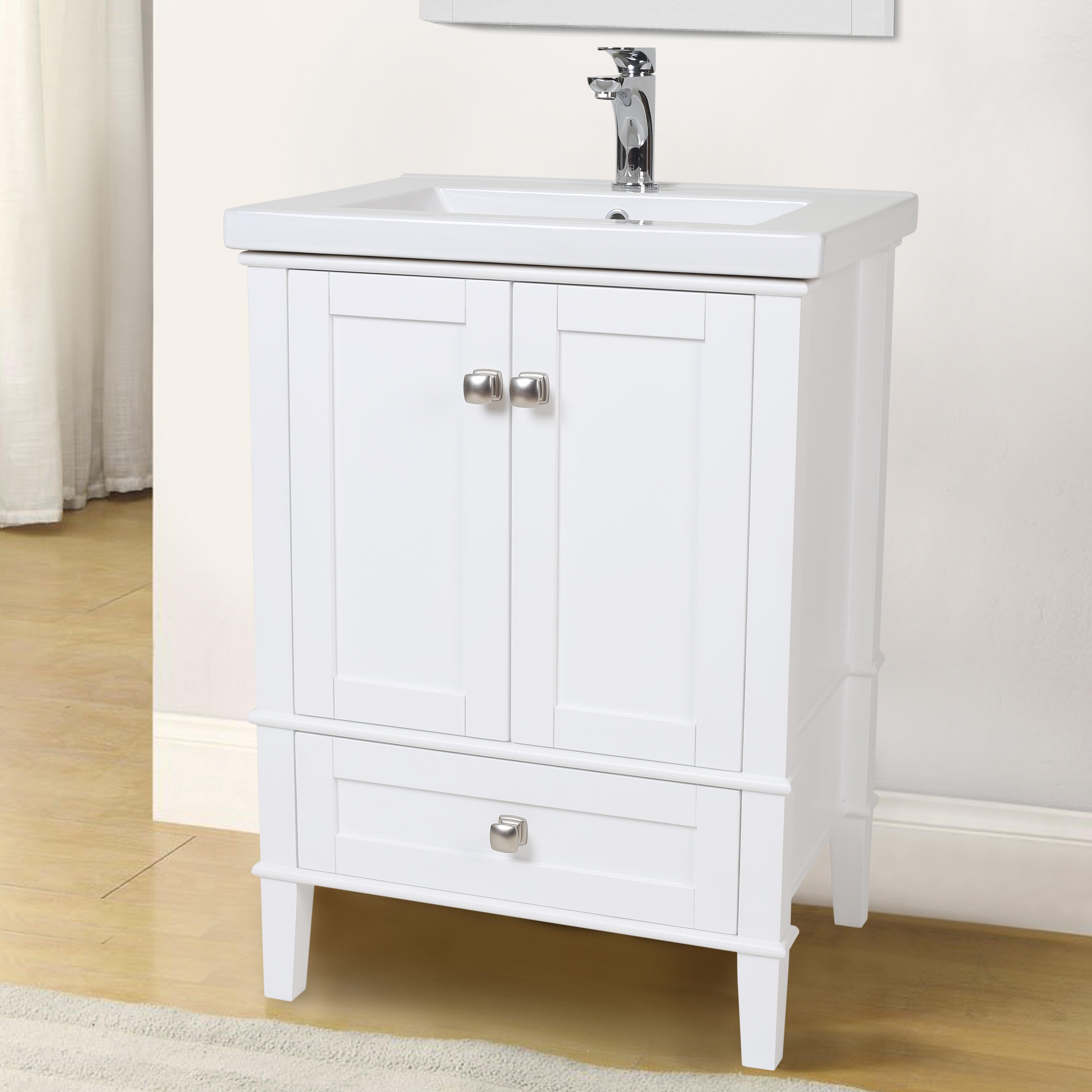 Modena 24 Single Bathroom Vanity Set