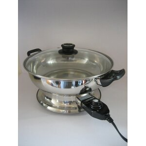 Hot Pot Food Steamer with Lid