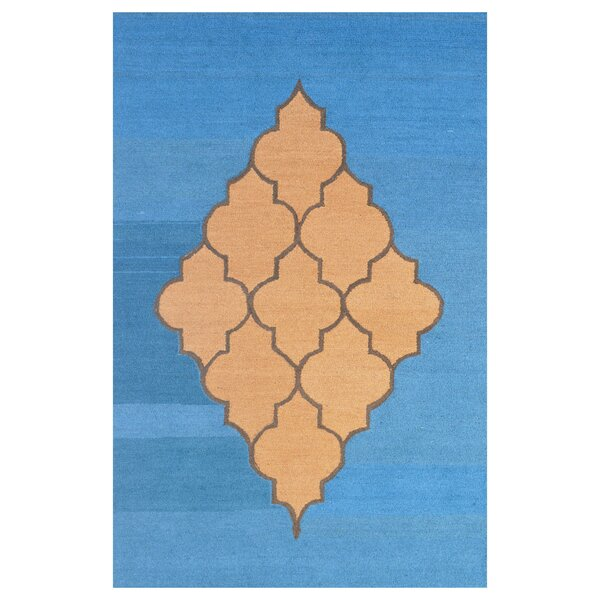 Wool Hand-Tufted Blue/Brown Area Rug by Eastern Weavers