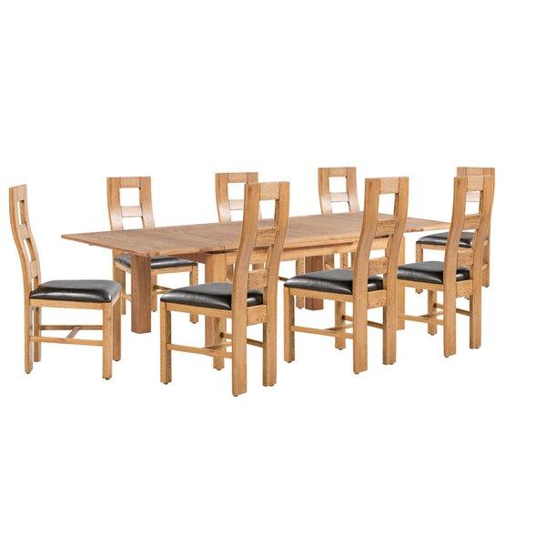 Pecoraro 9 Piece Extendable Dining Set by Loon Peak