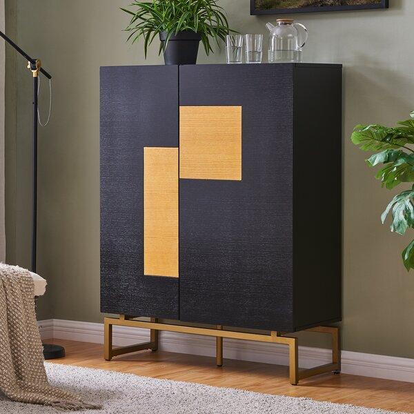 Hursey Anywhere Bar Cabinet by Wrought Studio