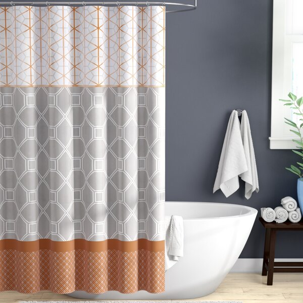Vernetta Microfiber Shower Curtain by Zipcode Design