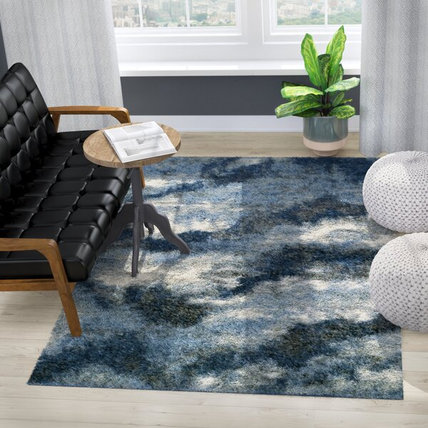 Zhora Navy Area Rug by 17 Stories