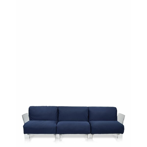 Pop Outdoor Three Seater Sofa by Kartell