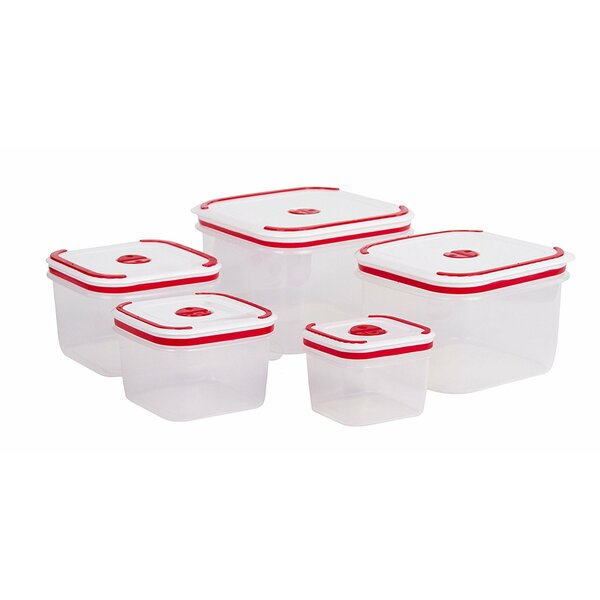 Meal Prep 5 Container Food Storage Set by Rebrilliant