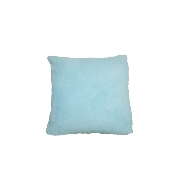 Linch Solid Throw Pillow by Harriet Bee