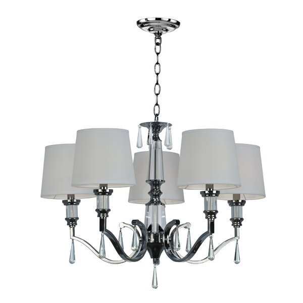 Shebeen 5-Light Shaded Classic / Traditional Chandelier by Astoria Grand
