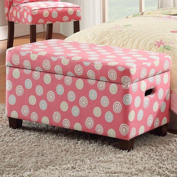Van Deluxe Upholstered Kids Bench with Storage by Harriet Bee