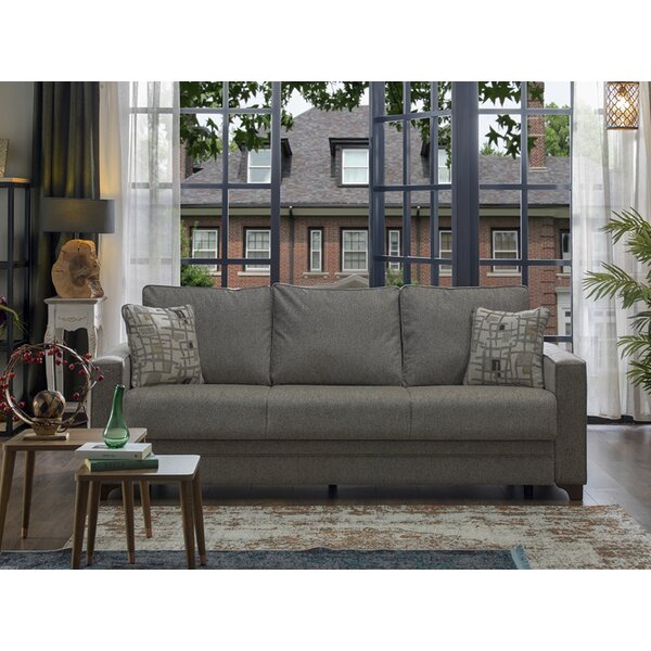 Popp 88'' Square Arms Sleeper By Darby Home Co