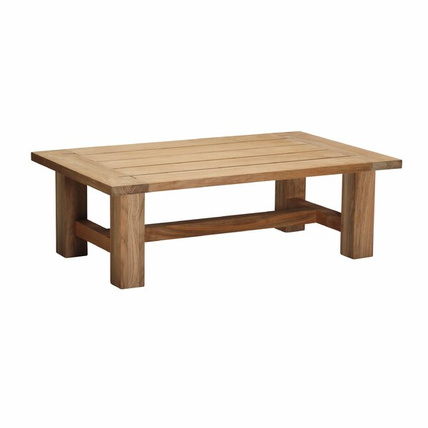 Croquet Teak Coffee Table by Summer Classics