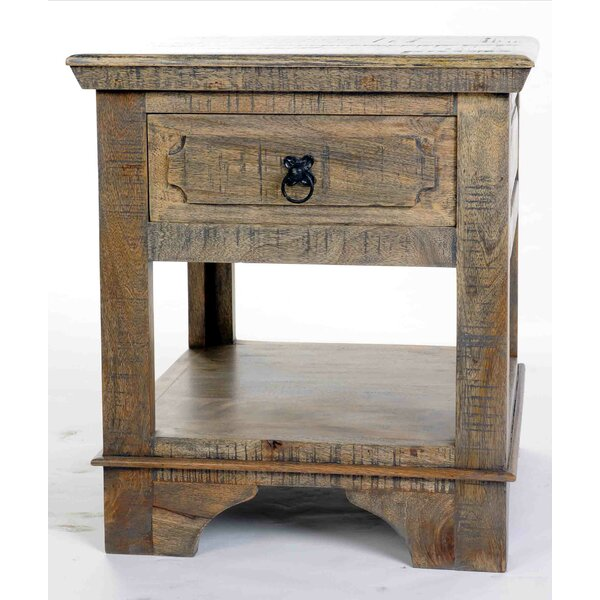 Walburn End Table by Millwood Pines