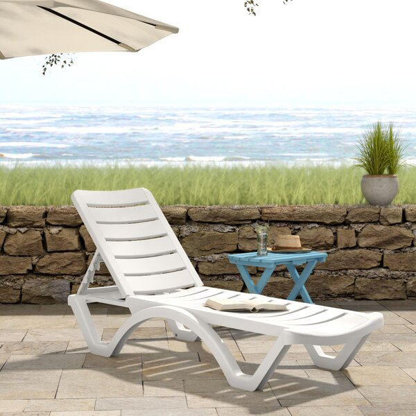 Ramona Reclining Chaise Lounge (Set Of 4) By Beachcrest Home