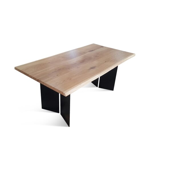 Bednar Solid Wood Dining Table by Foundry Select