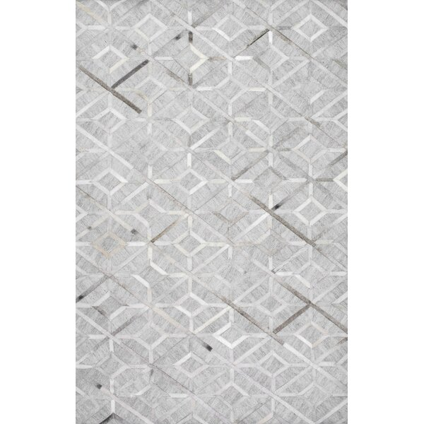 Cecilia Handmade Gray Area Rug by Mercer41